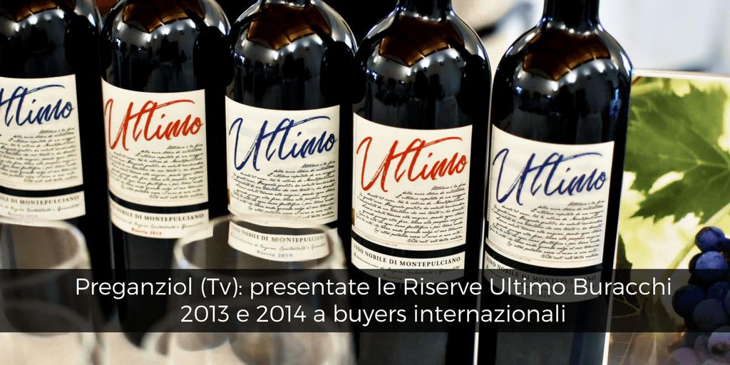 Preganziol (Tv), presentate le Riserve 2013 e 2014 Buracchi Ultimo