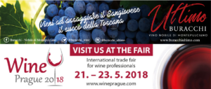 Buracchi Ultimo a Wine Prague 2018