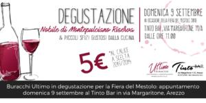 Degustazione Ultimo, Tinto Bar Arezzo, Fiera del Mestolo