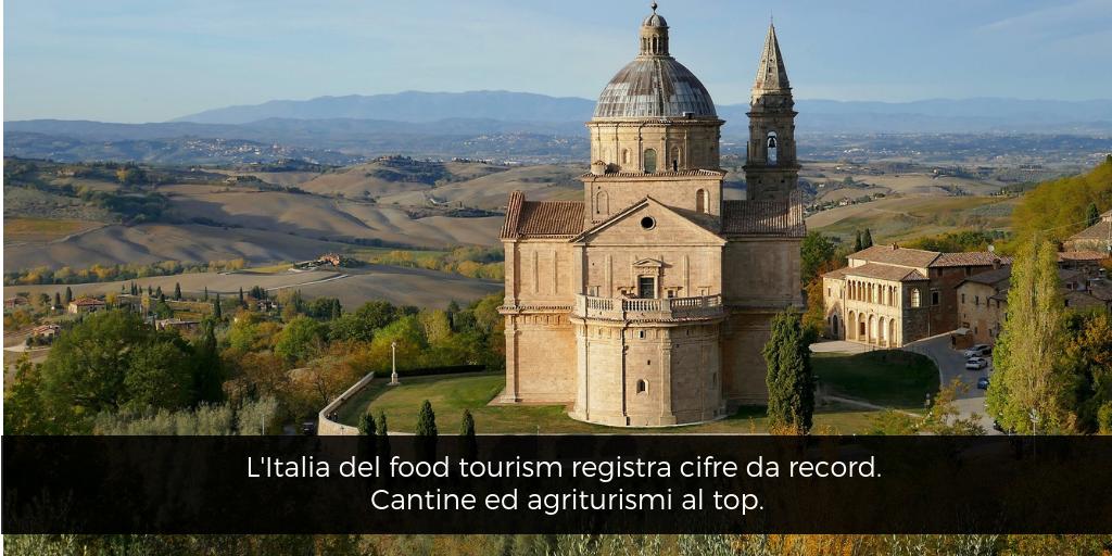 L'Italia del food tourism registra cifre da record. Cantine ed agriturismi al top
