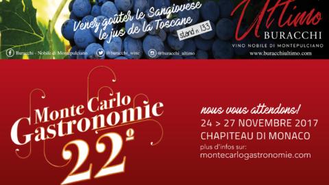 Les vins Buracchi à Monte Carlo Gastronomie