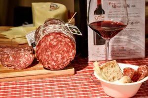 La Finocchiona IGP in degustazione col nostro Vino Nobile a Monte Carlo Gastronomie