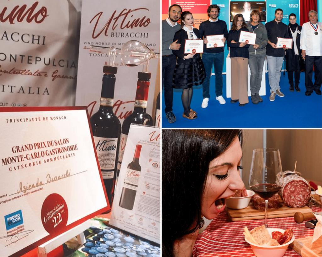 Il Gran Prix Monte Carlo Gastronomie, categoria Sommellerie