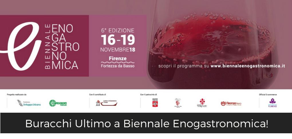 Buracchi Ultimo Biennale Enogastronomica