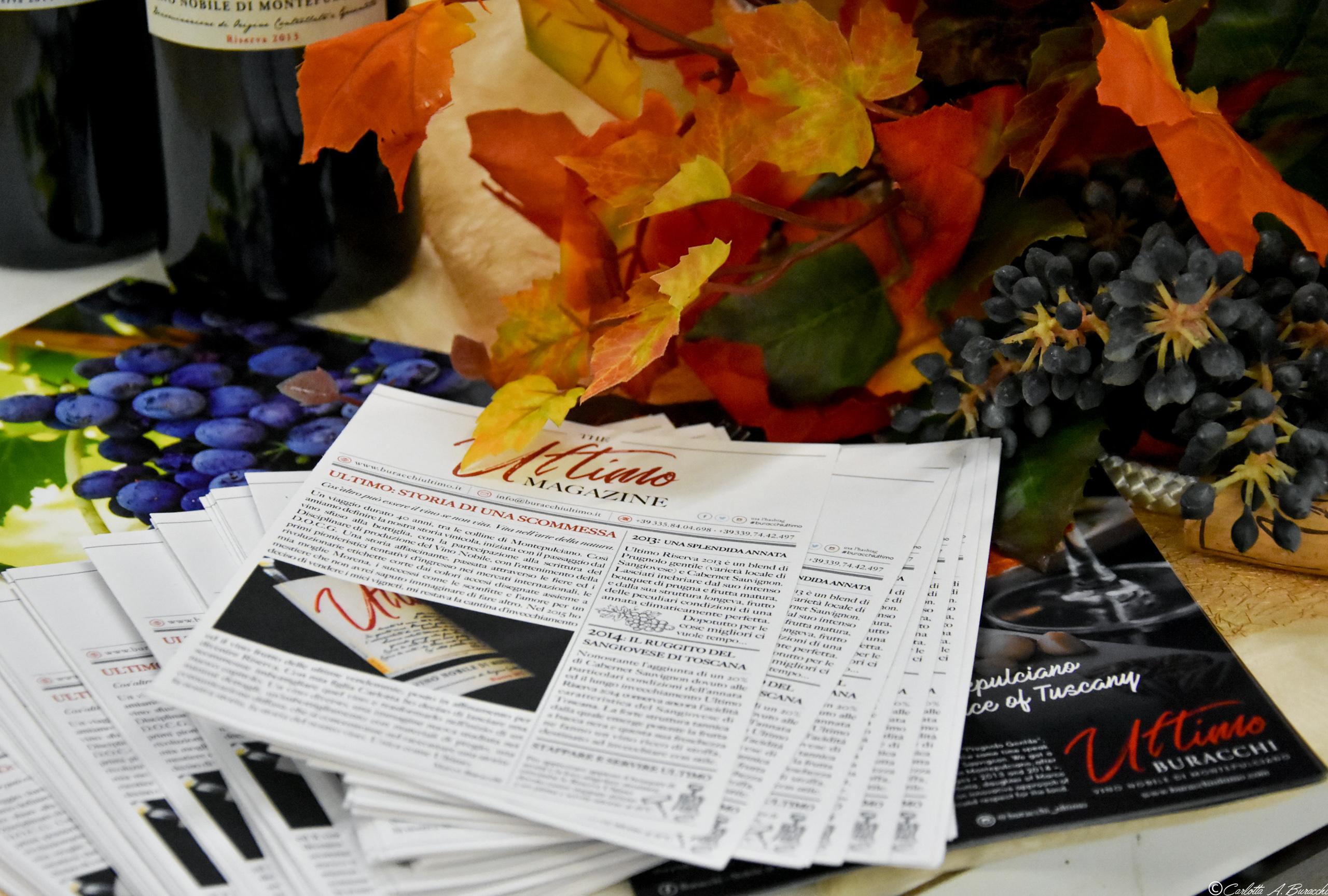 Ultimo Magazine a Biennale Enogastronomica