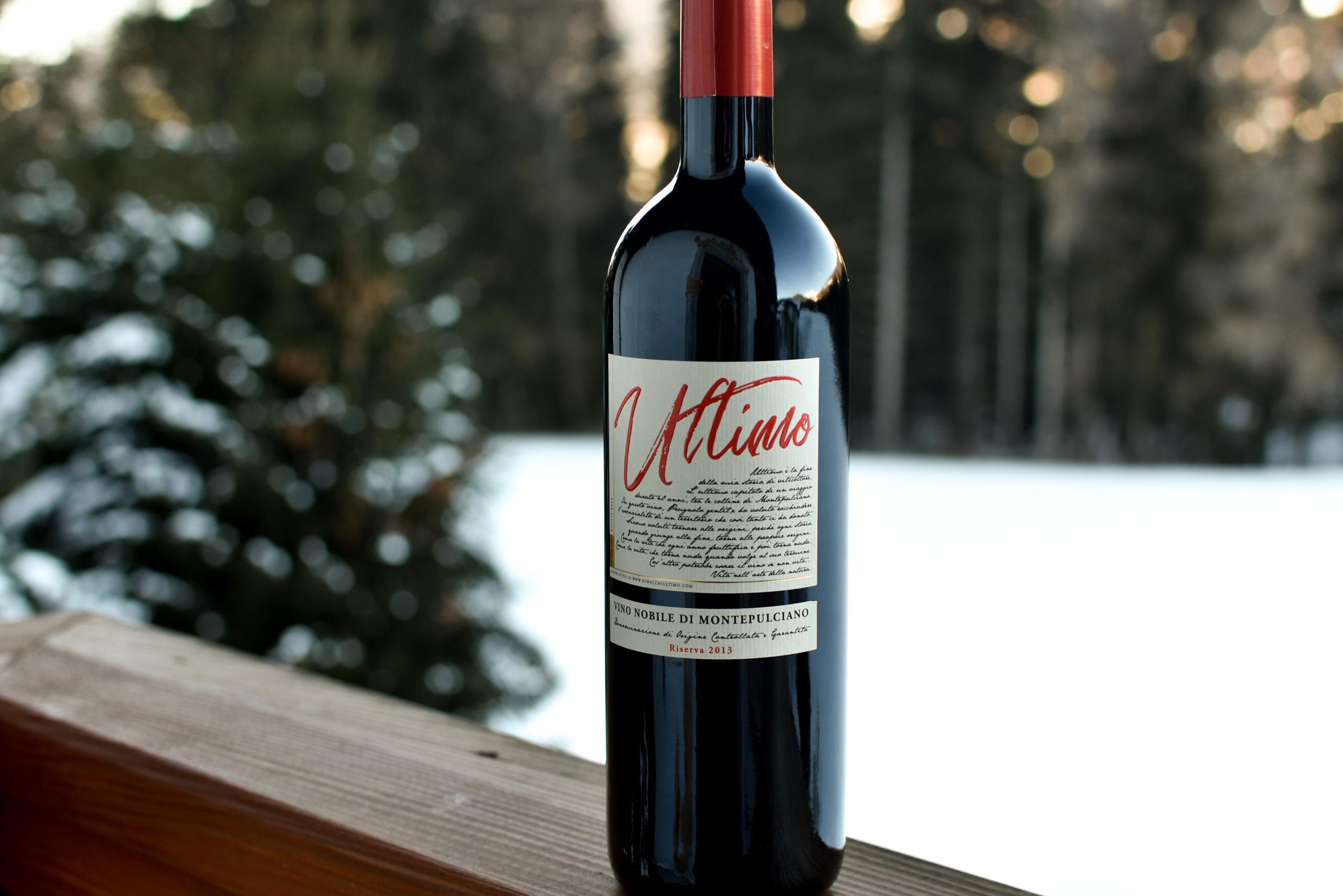"""Anche la nostra Riserva di vino Nobile di Montepulciano """"Ultimo"""" può risentire delle temperature gelide di questo inverno: come degustarla al meglio?"""
